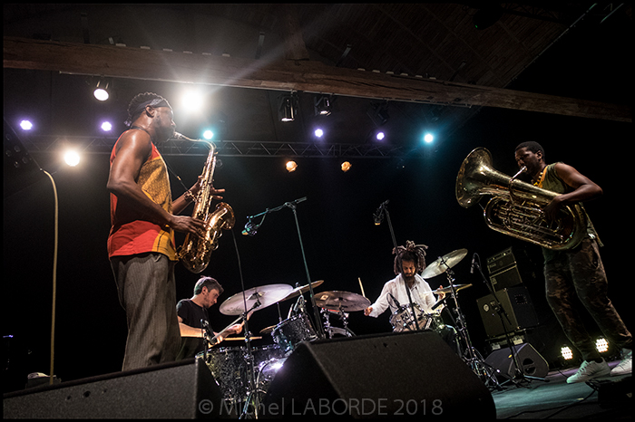Shabaka Hutchings quartet