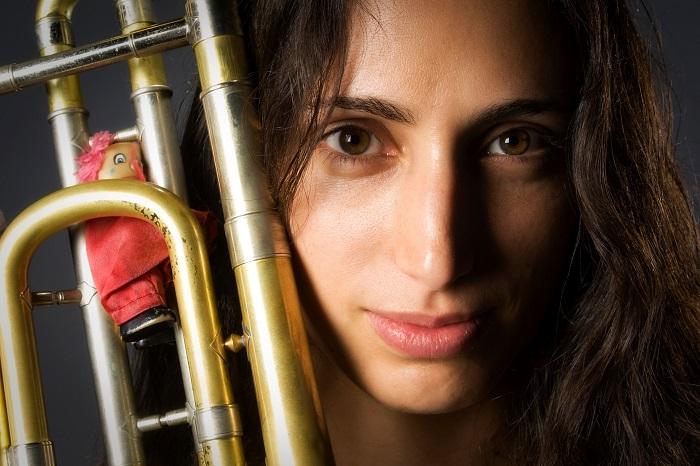Reut Regev, tromboniste sans limite