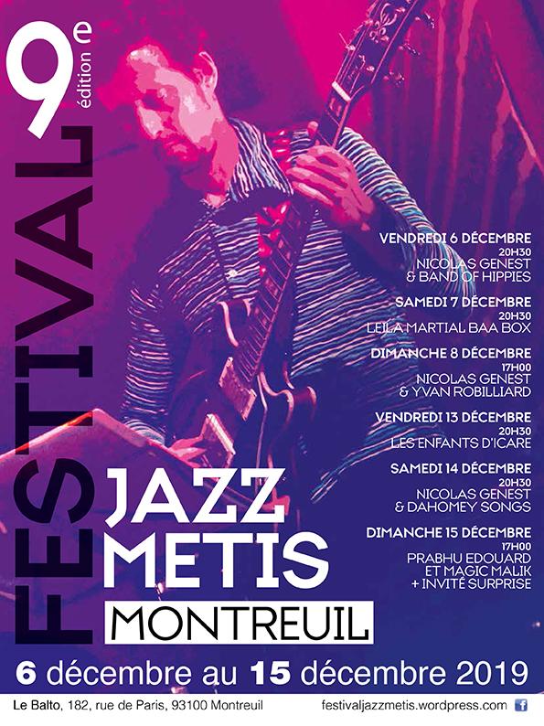 Festival Jazz Métis 2019